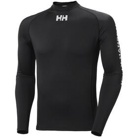 Helly Hansen Waterwear Rashguard Long Sleeve Shirt Men, nero